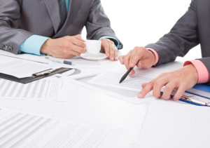 Подписание документов при продаже авто
