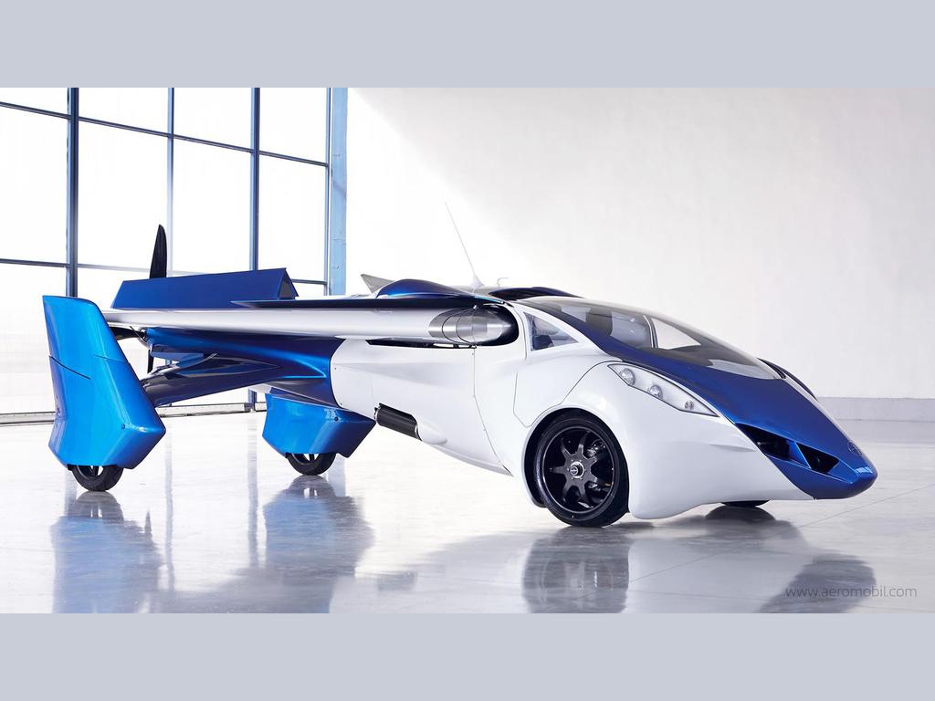 Летающие автомобили можно будет купить уже в 2017 году